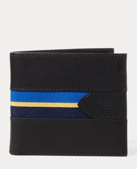 Grosgrain-Striped Billfold