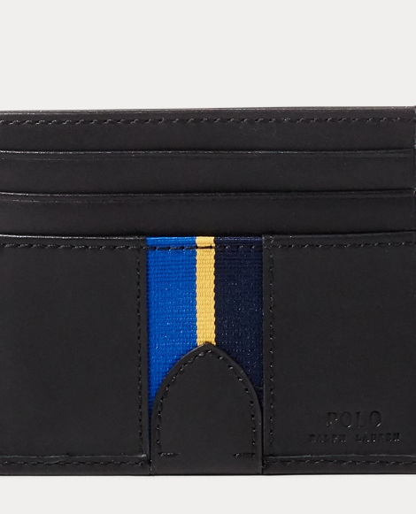 Grosgrain-Striped Card Case
