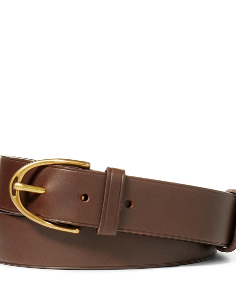 Vachetta Leather Dress Belt