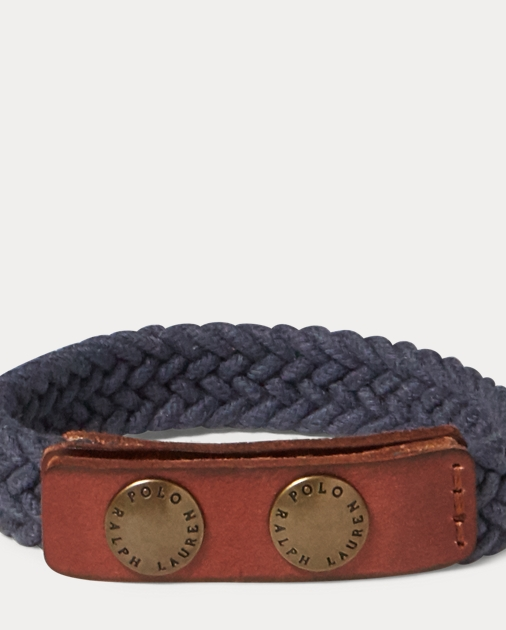 produt-image-0.0. Men Tailored Shop Cuff Links & Jewelry Braided Cotton  Wrist Strap. Polo Ralph Lauren