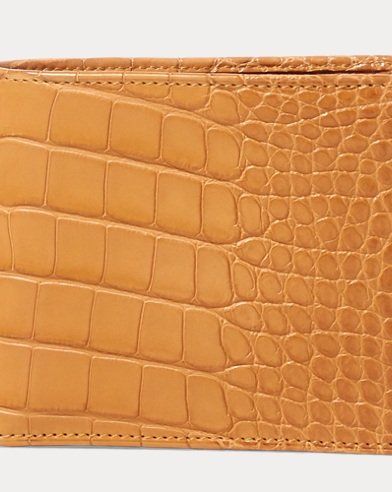 Burnished Alligator Wallet