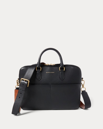 Calfskin Crossbody Briefcase