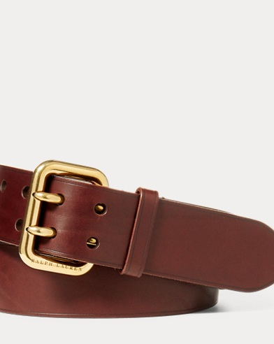 Double-Prong Vachetta Belt