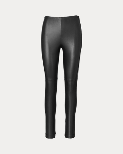 Eleanora Stretch Leather Pant