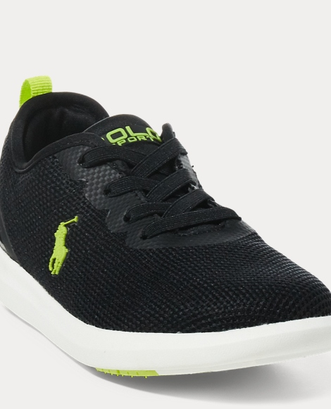 Mesh Low-Top Sneaker