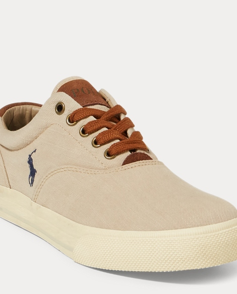 Vaughn Washed Twill Sneaker