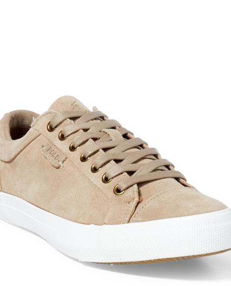Geffrey Suede Low-Top Sneaker