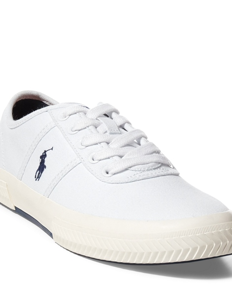 Tyrian Canvas Low-Top Sneaker