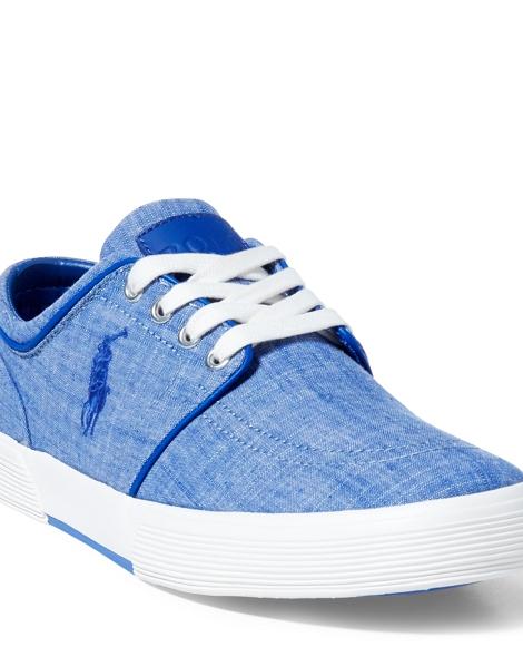 Faxon Chambray Low-Top Sneaker