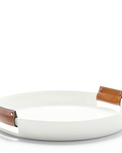 Wyatt Round Porcelain Tray