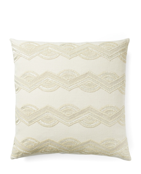 Bette Beaded Throw Pillow