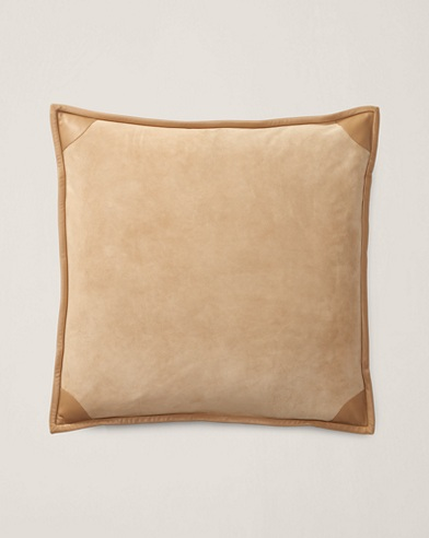 Hoyt Suede Throw Pillow