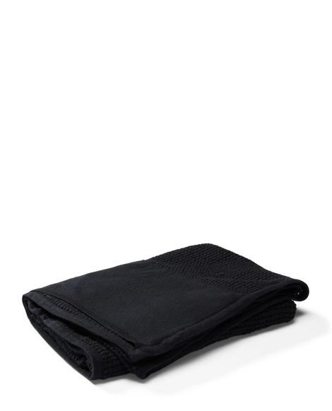 Waffle-Knit Travel Blanket