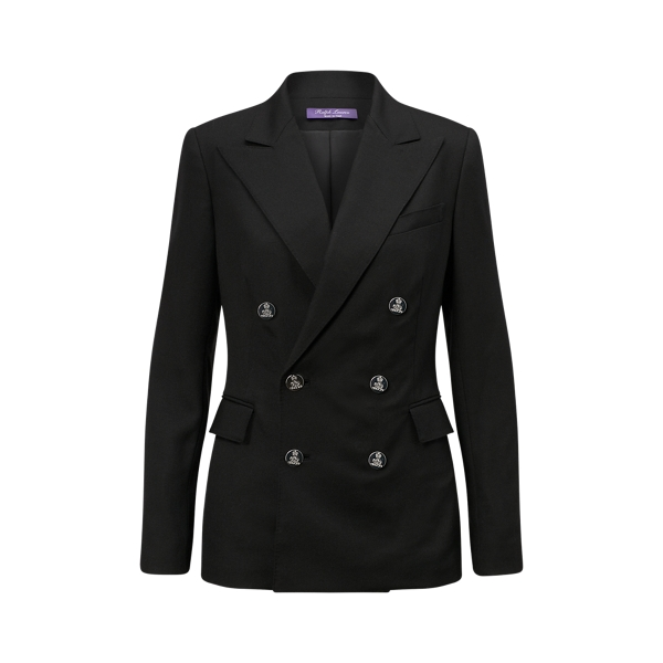 Ralph Lauren The Rl Blazer In Cashmere Black 2