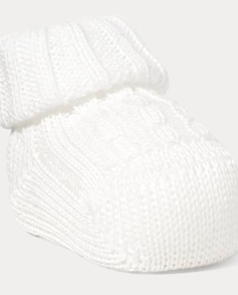 Cable-Knit Booties