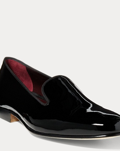Collis Patent Leather Slipper