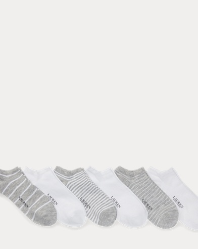 Striped Low-Cut-Sock 6-Pack