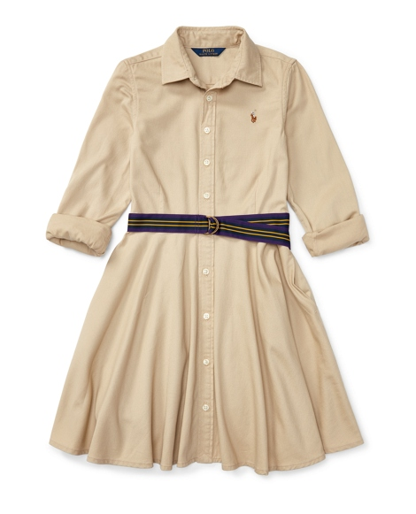 Lightweight Chino Shirtdress