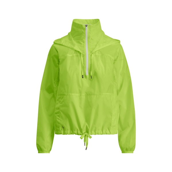 Ralph Lauren Hooded Ripstop Jacket Crystal Lagoon Xs