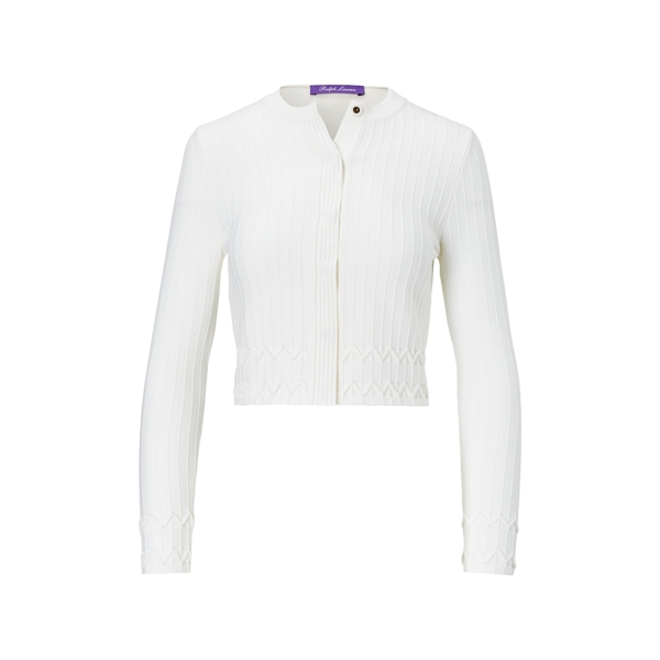 Ralph Lauren Stretch Merino Wool Jacket Ivory Xl