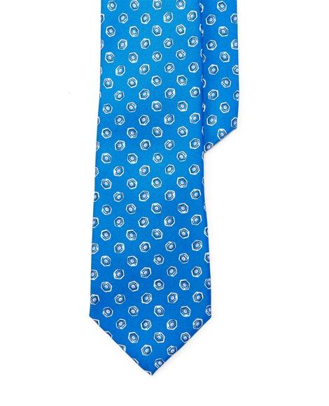 Neat Silk Twill Tie