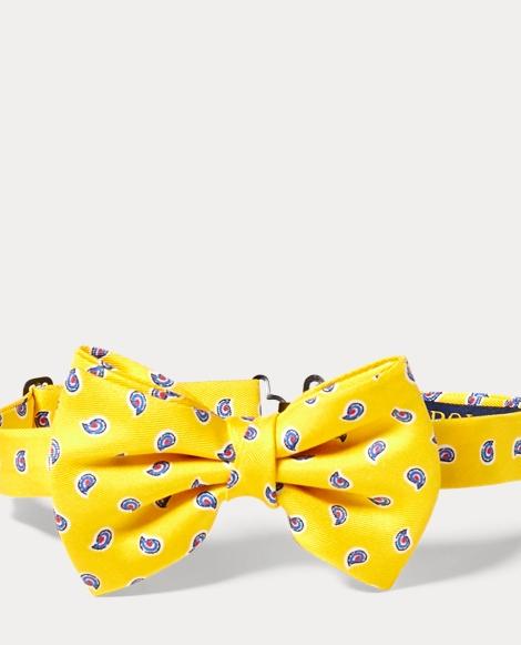 Neat Silk Twill Bow Tie