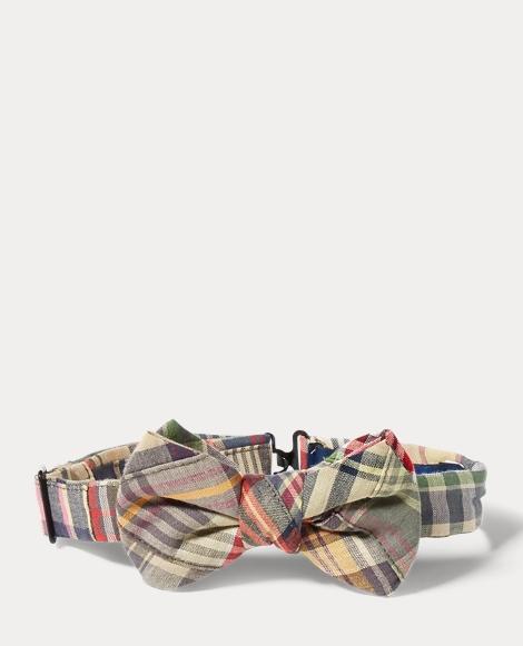 Cotton Madras Bow Tie