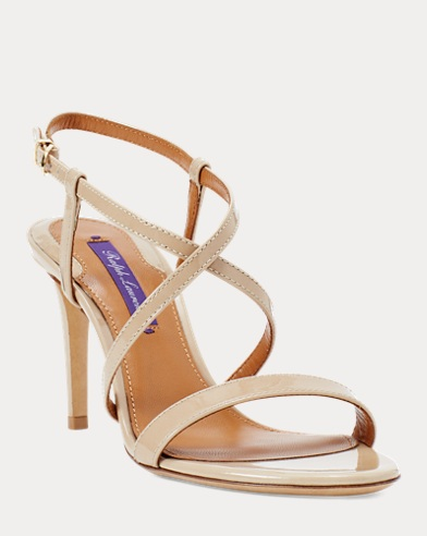 Arissa Patent Leather Sandal