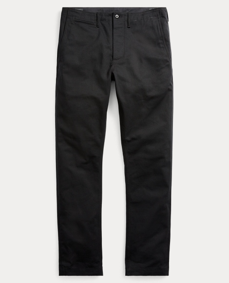 Straight Fit Selvedge Chino