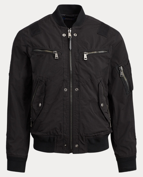 Water-Repellent Bomber Jacket