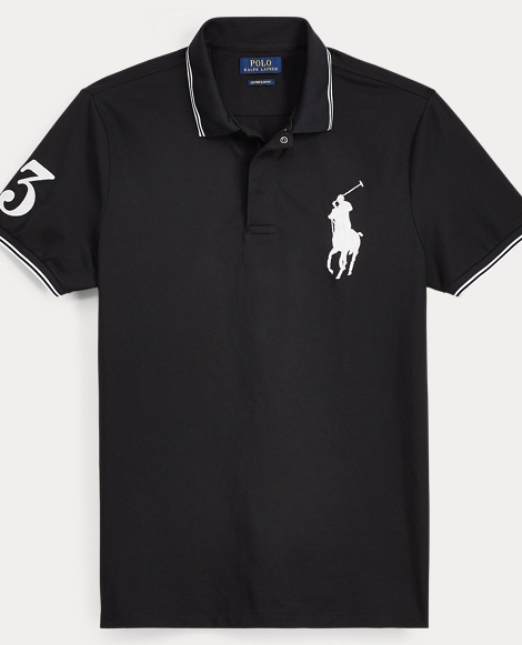 Custom Slim Fit Stretch Polo