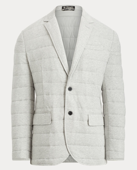 Quilted Cotton Jersey Jacket