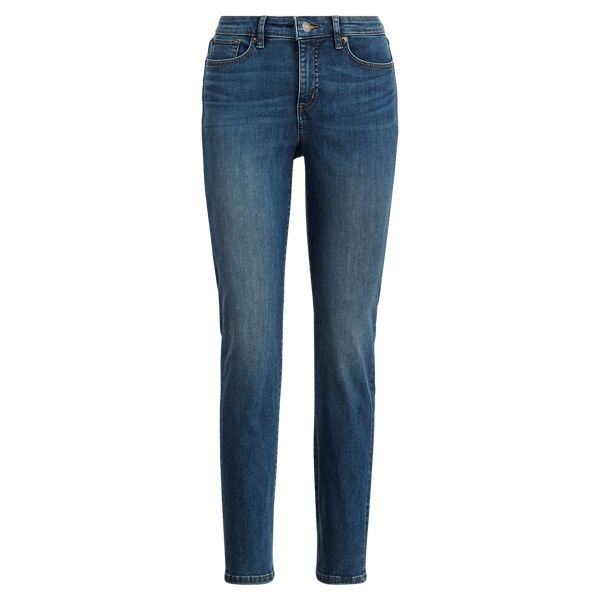 Ralph Lauren Premier Straight Curvy Jean Harbor Wash 2