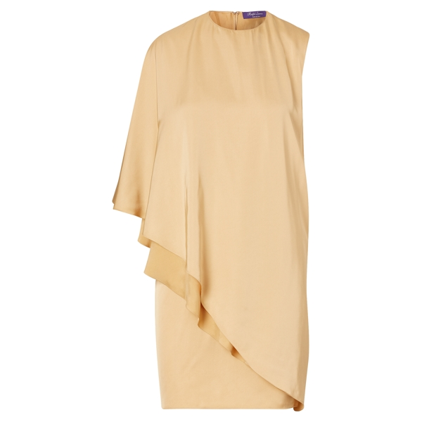 Ralph Lauren Kayla Asymmetrical Dress Sand 4