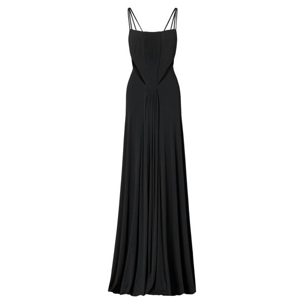 Ralph Lauren Marciana Cutout Gown Black 4