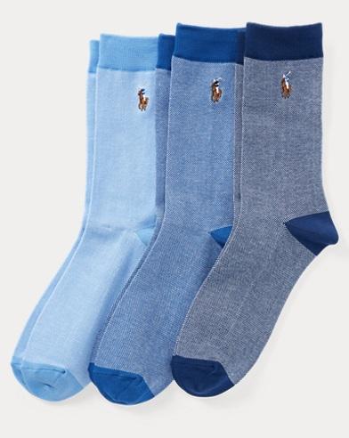 Oxford Sock 3-Pack
