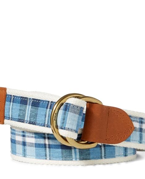 Madras D-Ring Belt