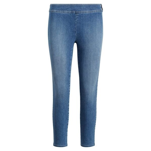 Ralph Lauren Stretch Denim Skinny Pant Seaside Wash 14