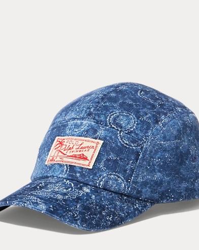 Bandanna-Print Twill Cap