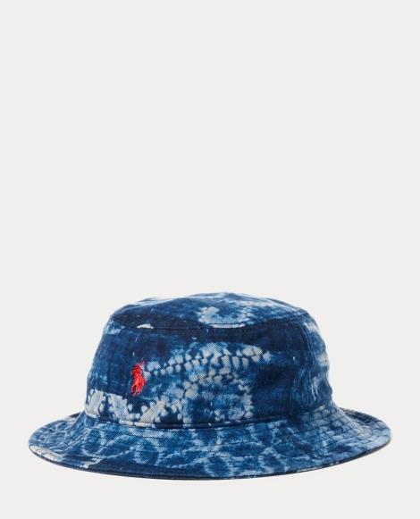 Patchwork Cotton Bucket Hat