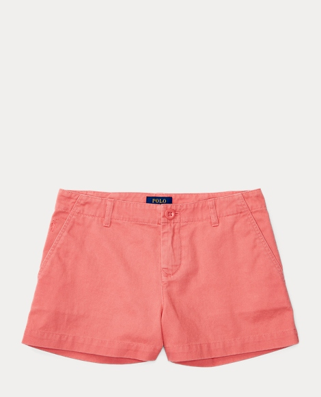 Washed Cotton Chino Short