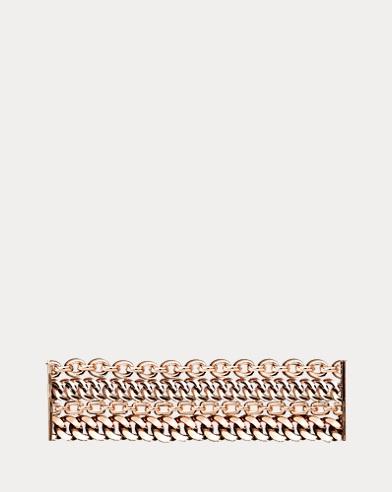 Rose Gold 4-Chain Bracelet