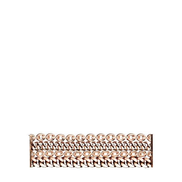 Ralph Lauren Rose Gold 4-Chain Bracelet Rose Gold M