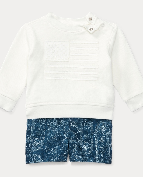 Flag Pullover & Short Set
