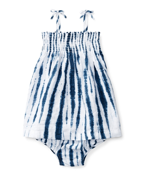 Shibori Linen Dress & Bloomer