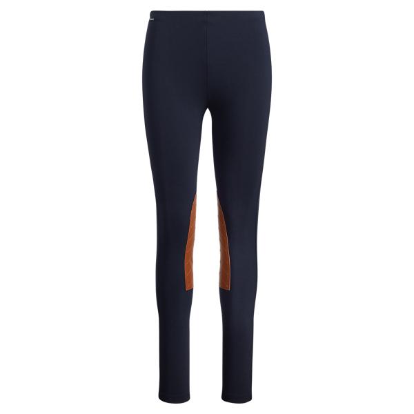 Ralph Lauren Jodhpur Stretch Skinny Pant Navy Xs