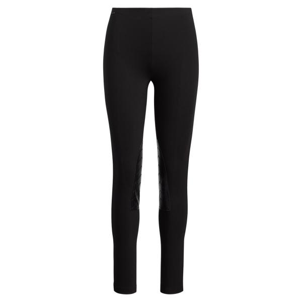 Ralph Lauren Jodhpur Stretch Skinny Pant Black Xs