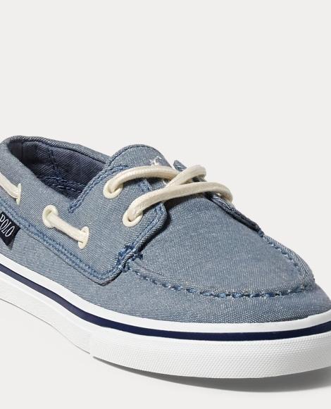 Batten Chambray Boat Shoe