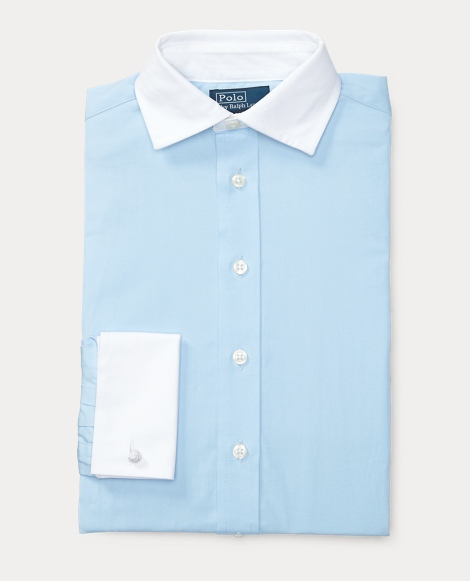 Cotton French Cuff Shirt