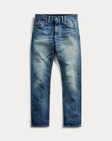 Slim Fit Faded Jean